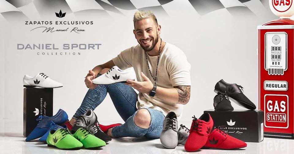 Collection de chaussures Bachata (Daniel) / reinadanza.com