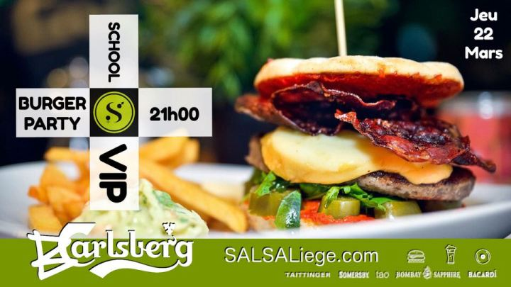 Event SALSALiege.com / Burger Party / Jeudi 22 Mars