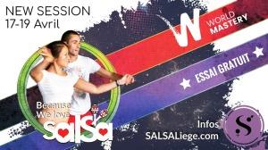 Désormais la référence SALSA à Liège c'est chez nous! Nouvelle session de cours débutant (Avril 2018)